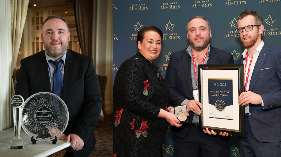 Leitrim's Best Young Entrepreneur 2019 Business & Business All-Star Accreditation 2019
